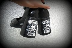 Psychobilly Shoes - Gabbie Custom Art