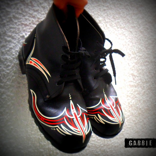 Pinstriping for the Boys - Gabbie Custom Art