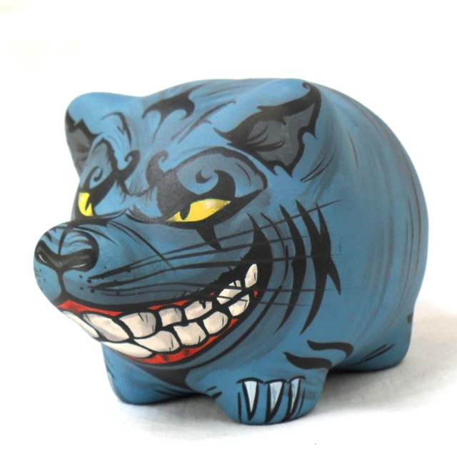 Chanchito Alcancia Evil Cheshire Cat en internet