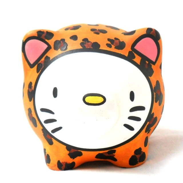 Chanchito Alcancia Hello Kitty Animal Print - comprar online