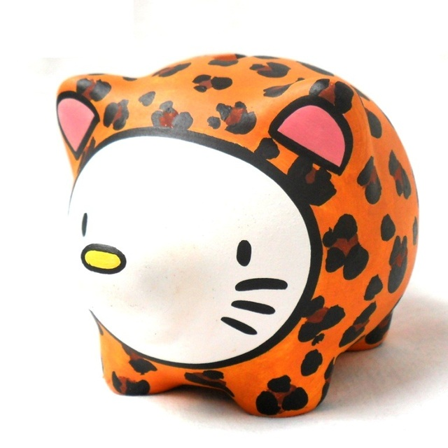 Chanchito Alcancia Hello Kitty Animal Print en internet
