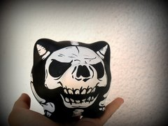 Chanchito Alcancia Demon Skull - comprar online