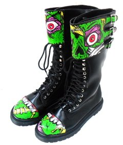 My Horror Boots - Gabbie Custom Art
