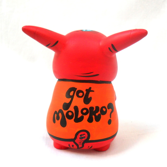 Got Moloko? Art Toy - Gabbie Custom Art