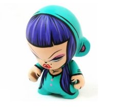 Miss Van Tribute Art Toy - Gabbie Custom Art