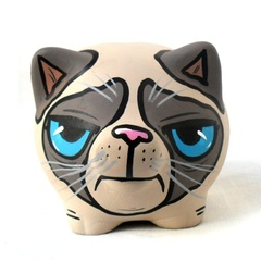 Chanchito Alcancia Grumpy Cat - comprar online