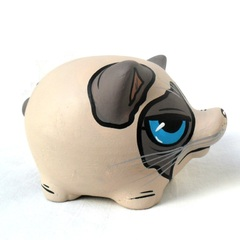Chanchito Alcancia Grumpy Cat - Gabbie Custom Art
