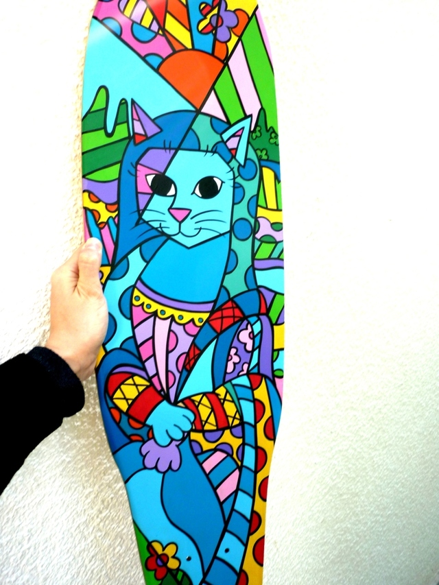 Tabla de Skate Mona Cat en internet