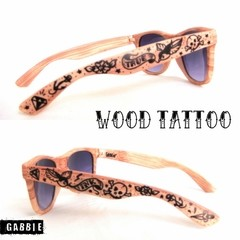 Wood Tattoo Eyewear Unisex
