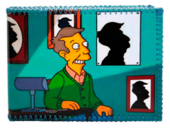 Billetera Simpsons - Skinner Siluetas