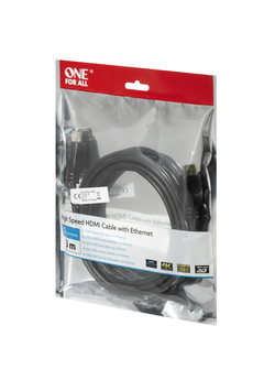 Cable HDMI One For All CC4013 3mts Ethernet