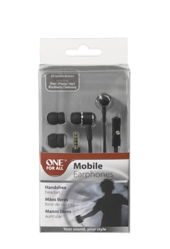 Auricular para Celular One For All SV5242 Negro