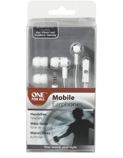 Auricular para Celular One For All SV5241 Blanco