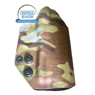 PISTOLERA  KYDEX 2mm MULTICAM PARA TPR  (full size)