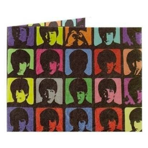 Billetera de papel THE BEATLES