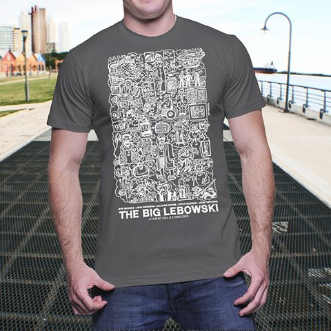 Remera THE BIG LEBOWSKI