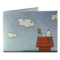 Billetera de papel SNOOPY