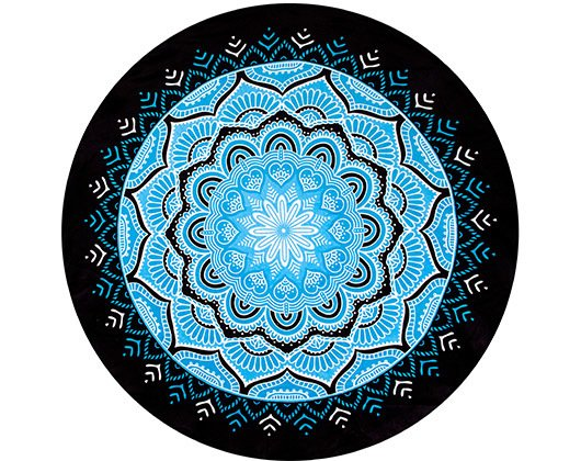 Toallon/ Mantel New Country Playero Mandala Redondo