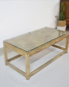 IT-28  Block Glass Coffe Table - comprar online