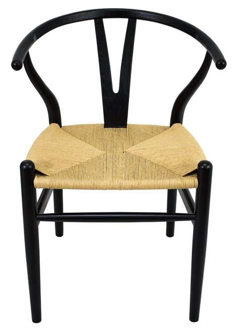W-001/BK SILLA WHISHBONE BLACK