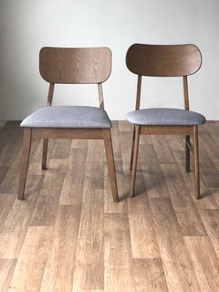 ES5094/WE Silla Alida Walnut Expresso - TRIBECA