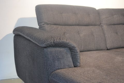 CHARLY/DGL  /  CHARLY/DGR   Sillon Charly dark grey left corner / Sillon Charly dark grey right corner - tienda online