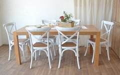 CC-01/B Silla Cross Antique Blanca en internet