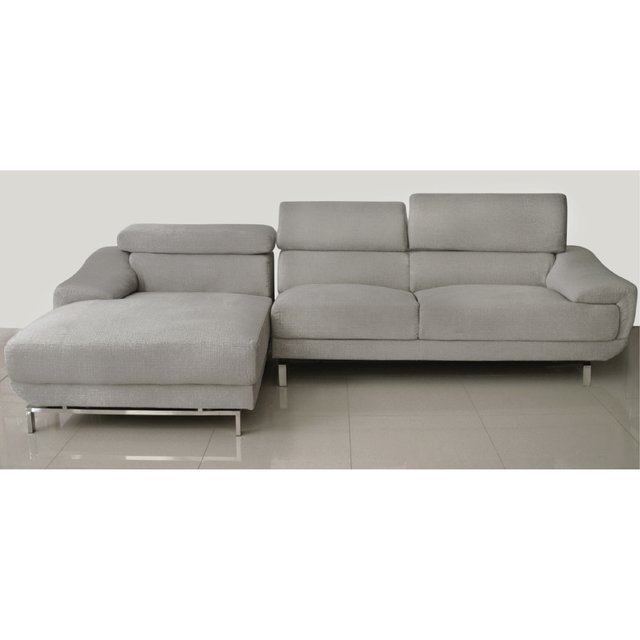 GUCCI/LGL  /  GUCCI/LGR   Sillon Gucci light grey left corner / Sillon Gucci light grey right corner
