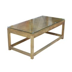IT-28  Block Glass Coffe Table