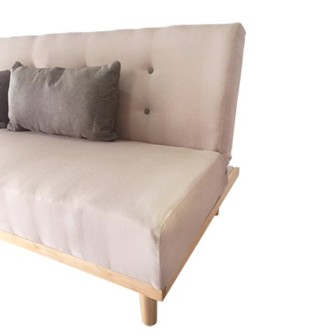 MANTRA/B Sofa Bed Mantra Beige gray buttons en internet