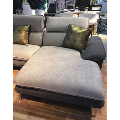 MUMA/LGR  /  MUMA/LGL     Sillon Muma light grey + dark grey right corner / Sillon Muma light grey + dark grey left corner - comprar online