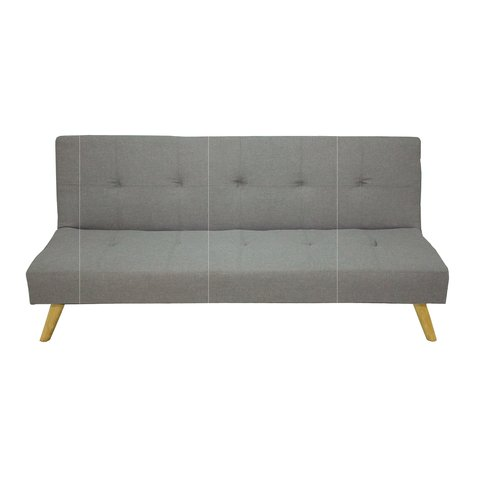 NAPA/LG Sofa-bed Napa Tela Light Grey base madera
