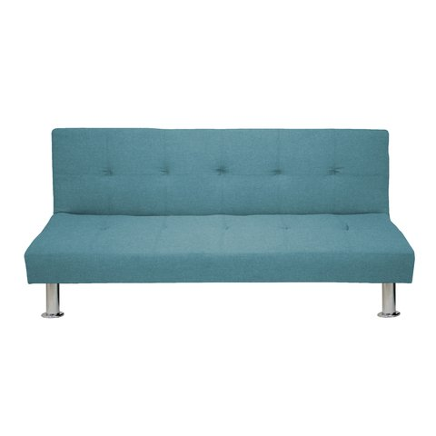 NAPA-C/LB Sofa Bed Napa Light Blue Base Cromo