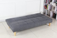 OWEN/DGW Sofa Bed Owen dark grey base madera - comprar online