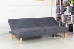 OWEN/DGW Sofa Bed Owen dark grey base madera en internet