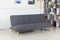 OWEN/DGW Sofa Bed Owen dark grey base madera - TRIBECA