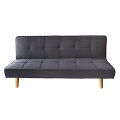 OWEN/DGW Sofa Bed Owen dark grey base madera