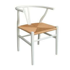 W-001/W Silla Wishbone White