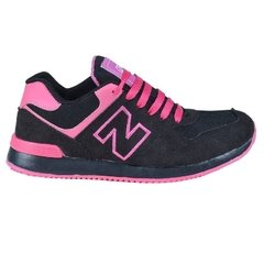 Zapatillas new blink kids negro/fucsia (37408)