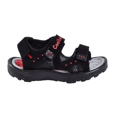 Sandalias Kids Traktor Negro Coolbeach (11016)
