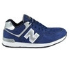Zapatillas New Blink Azul/Plateado (47401)