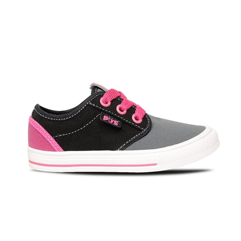 Zapatillas Baby Fucsia-Gris Prowess (13013)