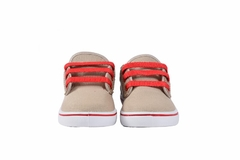 Zapatillas Kids Beige-Rojo Hey Day (20322) - comprar online