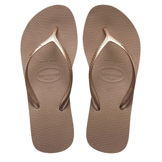 Ojotas Havaianas Mujer High Light  Rosa Gold (10302)