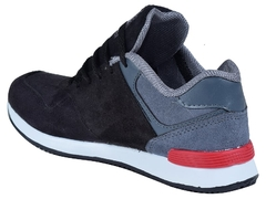 Zapatillas New Blink Kids Negro/Gris (37407) - comprar online