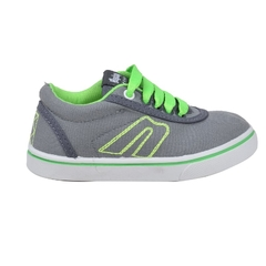 Zapatillas Kids Gris-Verde Hey Day (30403)