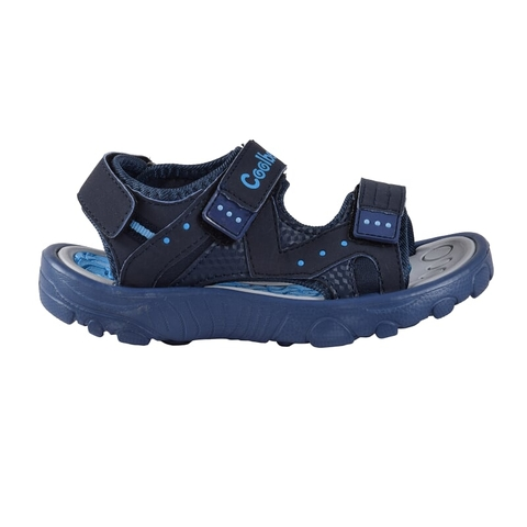 Sandalias Kids Traktor Azul Coolbeach (11018)