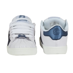 Zapatillas Infantil Clasicas Blanco Azul Proforce (03252) en internet