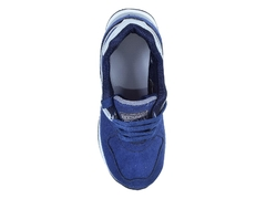 Zapatilla New Blink Baby Azul/Plata (27401) en internet