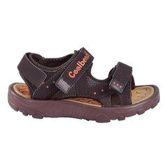 Sandalias Kids Traktor Marron Coolbeach (11017)